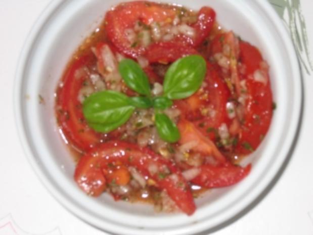 Salat: Tomatensalat - Rezept - Bild Nr. 7