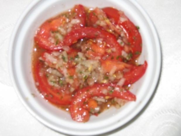 Salat: Tomatensalat - Rezept - Bild Nr. 4