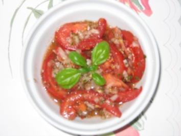 Rezept: Salat: Tomatensalat