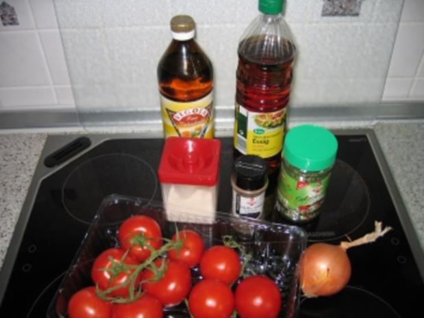 Salat: Tomatensalat - Rezept - Bild Nr. 2