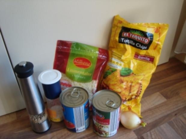 Auflauf - Überbackene Tortilla - Chips - Rezept - Bild Nr. 3