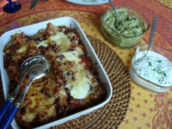Auflauf - Überbackene Tortilla - Chips - Rezept