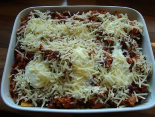 Auflauf - Überbackene Tortilla - Chips - Rezept - Bild Nr. 2