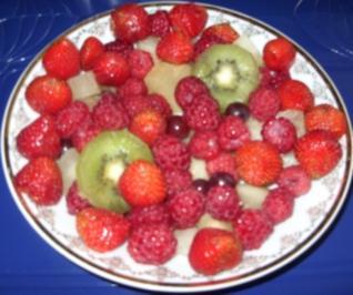 Obst-Teller für Groß und Klein - Rezept