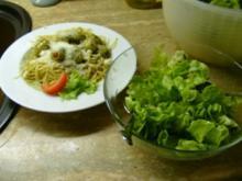 Spaghetti mit Oliven - Rezept