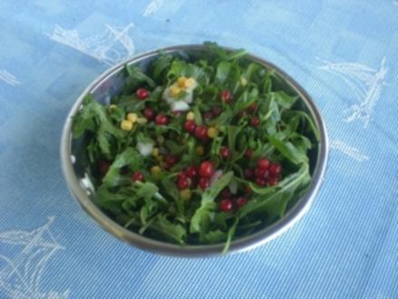 Ruccolasalat, schön bunt (Mit Foto) - Rezept