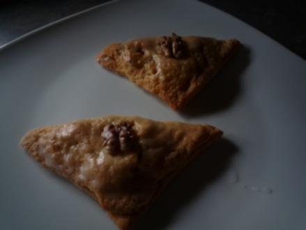 Apfel - Nuss - Taschen - Rezept