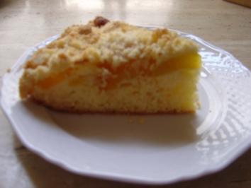 Streuselkuchen mit Obst - Rezept