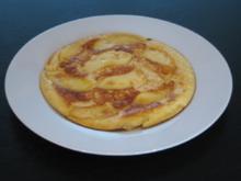 Eierpfannkuchen mit Apfel - Rezept