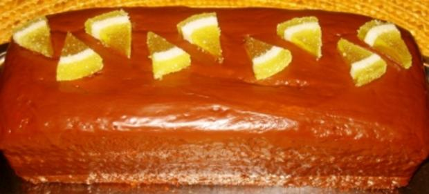 Backwaren: Zitronen-Sandkuchen - Rezept