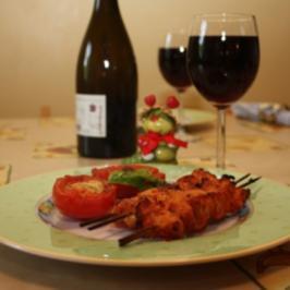 Gegrillte Paprika-Spiesse - Rezept