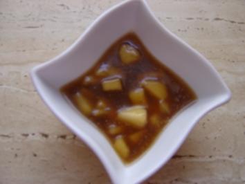 Bratapfel -Honig -Soße - Rezept