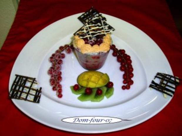 Johannisbeer-Baiser Torte im Glas gebacken - Rezept - Bild Nr. 2