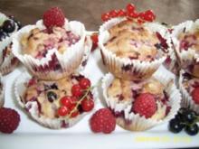 Sommerbeeren - Muffins - Rezept