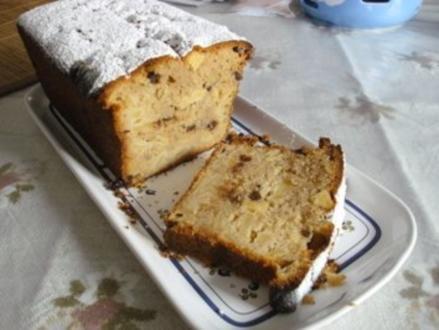 Schoko-Apfel-Zimt-Kuchen - Rezept