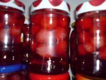 Erdbeerkompott - Rezept
