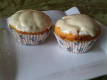 Weiße Schoko Muffins - Rezept