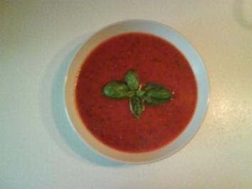 Suppe: Feurige Tomatensuppe - Rezept