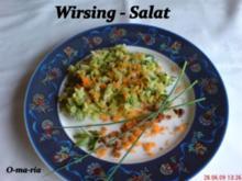 Salate  Wirsing - Salat - Rezept