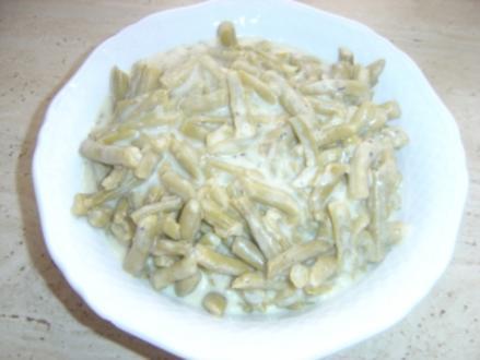 Böhnchen süss-sauer - Rezept