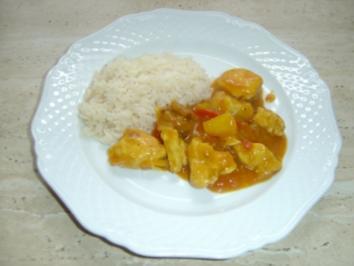 Indisch Puten Curry - Rezept
