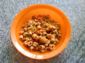 HAUPTSPEISE: Gemüsenudeln für meine Kleine - Rezept