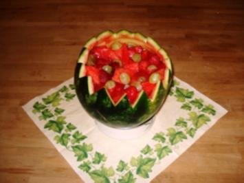 Mamsells Melonen-Obstsalat - Rezept