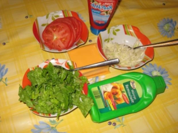 all american cheeseburger - Rezept - Bild Nr. 5