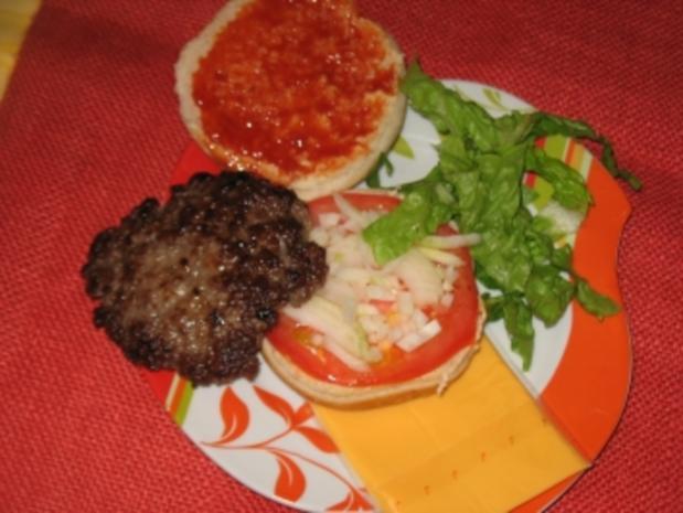 all american cheeseburger - Rezept - Bild Nr. 7