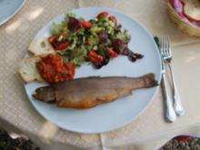 Fisch ~ Geräucherte Forellen - Rezept