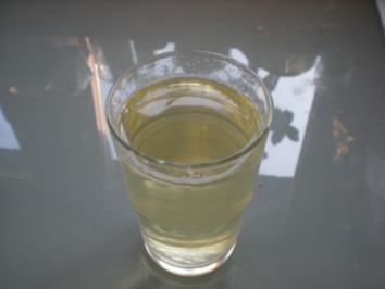 Getränke: Ingwerwasser - Rezept