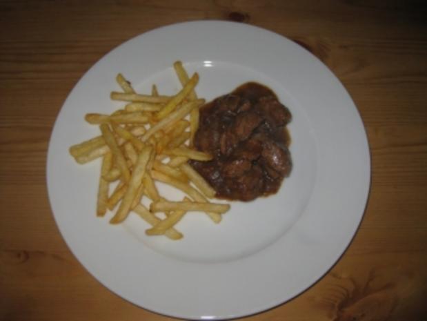 Stoofvlees met frietjes - Rezept