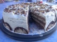 Eierlikör - Mohrenkopf - Torte - Rezept