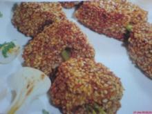 Rindfleisch-Spießchen auf Zitronengras - Rezept