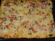 Gyros Pizza - Rezept