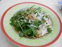Rucolasalat mit Pecorino und Walnüssen - Rezept