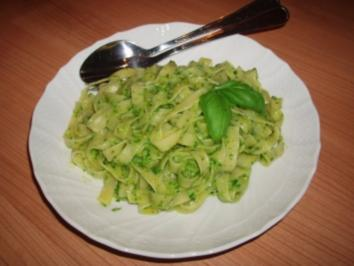 Rezept: Pasta mit Pesto