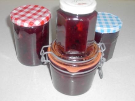 Apfel - Heidelbeer - Marmelade - Rezept
