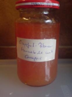 "Marmelade ""Grapefruit-Zitrone-Campari"" - Rezept"