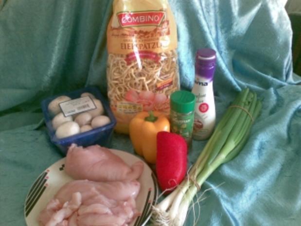 Chicken-Champignon-Spätzle-Pfanne - Rezept - Bild Nr. 2