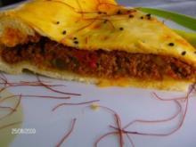 Spanien - Empanada - Spanische Hackfleischtarte - Rezept