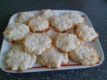 KEKSE - Kokos - Kekse Supereinfach & superschnell - Rezept