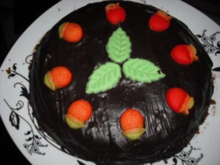 Kuchen/Torte - Sacher-Törtchen - Rezept