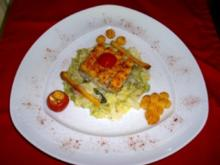 Seelachs-Filet mit Paprika-Kartoffelkruste - Rezept
