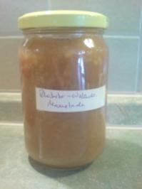 """Rezept: Marmelade """"Rhabarber-Nuss"""""""