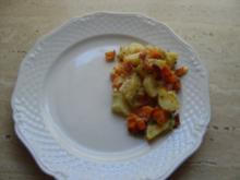 Kartoffelauflauf mit Speck - Rezept