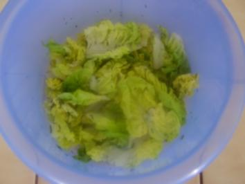 Salat von Salatherzen - Rezept