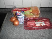 Speck-Zwiebel-Brötchen - Rezept