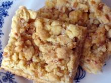 Apfelkuchen mit Mandelstreuseln - Rezept