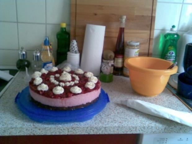 Himbeer-Joghurt-Torte - Rezept - Bild Nr. 2